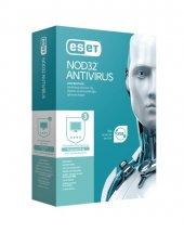 Nod32 Eset Antıvırus V10 Kutu 3 Kullanıcı 1 Yıl
