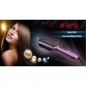 King K903 Shine Saç Düzleştirici Tarak