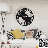 Dekoratif Ahşap Duvar Saati 021