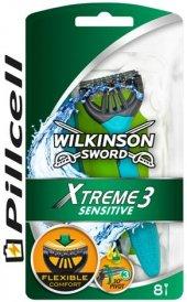 Wilkınson Sword Xtreme 3 Sensetive 8 Li