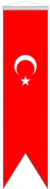 Türk Bayrağı Kırlangıç 50x200