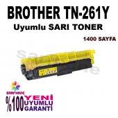 Brother Tn 261,tn 241,tn 251,tn 221 Sarı Muadil Toner