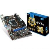 Msı H81m P33 Ddr3 1600mhz S+v+gl+ 1150p (Matx)
