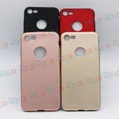 Apple İphone 8 Lüks Rubber Mat Renkli Silikon Kılıf
