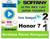 Soffany Türk Telekom Honor 7 Kırılmaz Ekran Koruyucu Temperli Cam