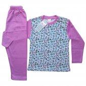 Dobakids Pamuklu Kız Çocuk Pijama Takımı