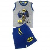 Dobakids Batman Baskılı Erkek Çocuk Şortlu Takım
