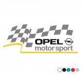 Opel Sport Sticker 30x15