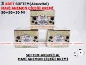 2 Adet Softem Aksuvital Mavi Anemon Çiçeği Kremi 50+50+50 Ml