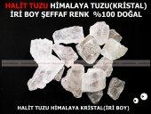 Halit Kristal Sole Himalaya Tuz, Berrak Orjinal Kristal 1000 Gr