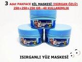 3 Adet Pakface Isırgan Özlü Kil Maskesi 250+250+250 Gr