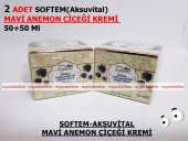 2 Adet Softem Aksuvital Mavi Anemon Çiçeği Kremi 50+50 Ml