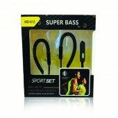 Super Bass Mikrofonlu Sporcu Kulaklığı Müzik Dinleme Keyfi