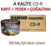 Diamond Boş Cd R (50 Adet) + Cd Kayıt İçin + Müzik + Video Kaydı