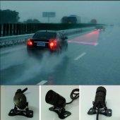 Oto Araç Araba Motor Arka Lazer Sis Farı Stop Lambası