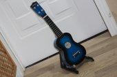 çocuk Gitarı 4 Telli Mavi