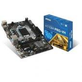 Msı 1151p H110 Ddr4 H110m Pro Vh 4x Sata Hdmı Intel Hd Graphics