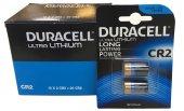 Duracell Ultra Lityum Cr2 Pil 2li (20 Adet Cr2) (10 Kart 2 Li)