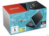 New Nintendo 2ds Xl Konsol Siyah Turkuaz