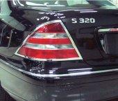 Mercedes W220 Stop Çerçevesi Kromu