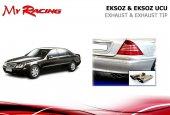 Mercedes W220 S Egzoz Ucu Krom Çift Çıkış S...