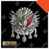 Decofour Osmanlı Arma Logo Duvar Stıcker