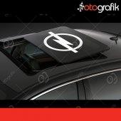 Otografik Opel Sunroof Logo Oto Stıcker
