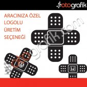 Otografik Logolu Duble Yara Bandı Oto Sticker