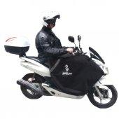 Honda Pcx Scooter İmpertex Kuma Diz Bacak Örtüsü Rüzgarlık Branda