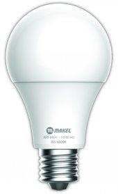 9w Led Ampul E27 6500k Makel Beyaz Işık