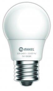 3w Led Ampul 6500k Makel E27 Beyaz Işık