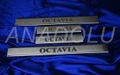 Skoda Octavia Krom Kapı Eşiği 4 Parça 2013 Üzeri
