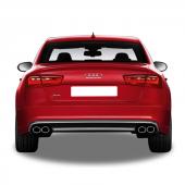 Audi A6 2012 2015 S6 Arka Tampon Eki Difüzör (Taiw...