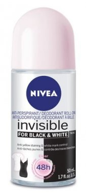 Nıvea Invisible For Black And White Anti Perspirant Roll On 50 Ml