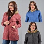 Kadın Kapşonlu Ceket