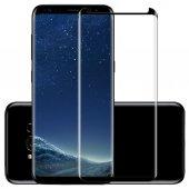 Samsung Galaxy S8 3d Kavisli Kırılmaz Cam Tam Kaplama Ekran Koruy