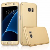 Samsung Galaxy J7 Prime Fit 360 �derece Tam Koruma Kılıf + Kırılma