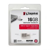 Kingston 16gb Dt Microduo 3c Usb 3.0 3.1 Dtduo3c