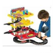 3 Katlı Garaj Oyun Seti Oyun Seti