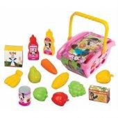 Minnie Mouse Küçük Market Sepeti Kız Oyuncak