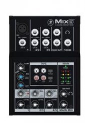 Mackie Mix5 5 Girişili 3 Kanallı Deck Mikser