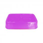 Plastik İkili Kedi Köpek Mama Su Kabı 250 + 250 Ml Pembe
