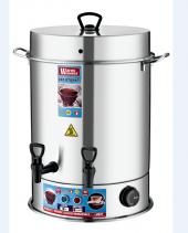 Warm Wasser 40 Bardak Çelik Çay Otomatı & Çay Makinesi Semaver