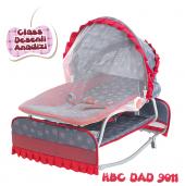 Happy Baby Class Desenli Anadizi(Kırmızı Gri)