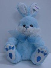 Premium 30cm Mavi Tavşan Peluş Oyuncak, Peluşcu Baba