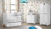 Lurani Gümüş Mini Bebek Odası