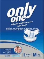 Yetişkin Hasta Altı Bezi Only One Marka 30 Luk Paket