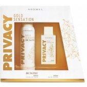 Privacy Gold Sensation Woman Parfüm 100 Ml + Deo Kadın