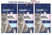 Lindo Cat Topaklanan İnce Taneli Parfümlü Kedi Kumu 3 X 10 Litre