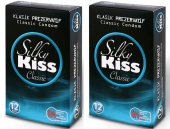 Silky Kiss Classic Kondom Klasik Prezervatif 12 Li 2 Paket